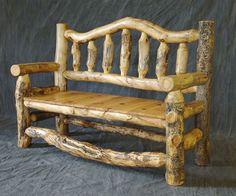 Dřevěné lavice Lavička
