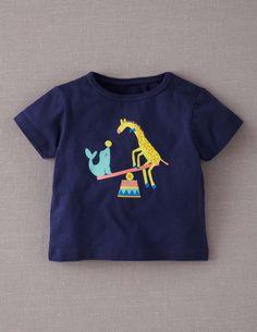 Circus Animals Print T-shirt