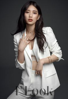 It's not something new when miss A's Suzy is gorgeous, but she's especially so for the March issue of Look' magazine.Suzy is sexy chic for the … Bae Suzy, Korean Beauty, Asian Beauty, Miss A Suzy, Look Magazine, Korean Celebrities, Female Celebrities, Beautiful Asian Women, Korean Actresses