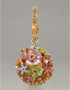Piper Blossom Charm - Flora - Jay Strongwater
