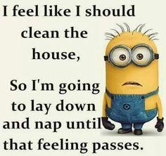 I hope this terrible feeling goes away...lol
