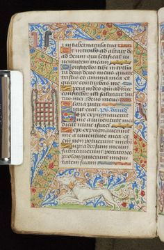 Book of Hours, MS M.815 fol. 78v - Images from Medieval and Renaissance Manuscripts - The Morgan Library & Museum