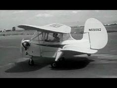 "Flying Flea Derivative: ""Pocket-Sized Biplane"" circa 1950s Universal Newsreel: http://youtu.be/rQJ6wjBPTzw #aviation #aircraft #flying"