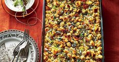 Thanksgiving Recipes You Can Make Now and Freeze for Later | Southern Living Thanksgiving Dinner Menu, Thanksgiving Recipes, Holiday Recipes, Thanksgiving Dressing, Thanksgiving Appitizers, Holiday Meals, Holiday Dinner, Raclette Originale, Easy Pumpkin Pie