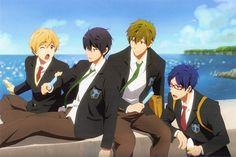 Tags: Anime, Scan, Official Art, Kyoto Animation, Hazuki Nagisa