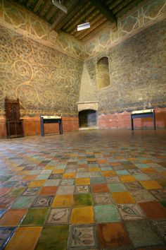 The Pope's Chamber, Papal Palace in Avignon.