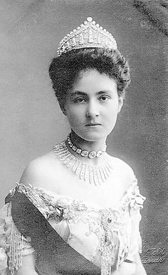 Caroline of Reuß-Greiz, grand duchess of Saxe-Weimar-Eisenach, first wife of Wilhelm Ernst, Grand Duke of Saxe-Weimar-Eisenach, sister of Kaiser Wilhelm's 2nd wife. Miserable childhood followed by a miserable marriage--she was most forcibly coerced by Kaiser Wilhelm at the foot of the altar. Weimar was the most stifling court in Europe. She became melancholic and died, probably a suicide, 18 months after the wedding. Her husband later married Feodora of Saxe-Meningen.