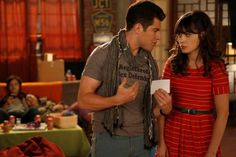 Your arms are hot, but your neck is cold? - Jess (New Girl)