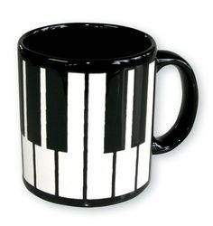 ♫♪ Tasse Klaviertastatur