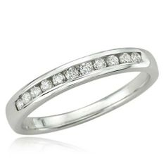 0.20 Carat (ctw) 14K White Gold Round Diamond Anniversary Wedding Band Stackable Ring 1/5 CT DazzlingRock Collection. $199.00. Diamond Weight : 0.20 ct tw.. Crafted in 14K White-gold. Diamond Color / Clarity : I-J / I2-I3. Weighs approximately 1.70 grams. Items is smaller than what appears in photo. Photo enlarged to show detail