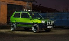 Fiat Panda, Maruti Suzuki 800, Seat Marbella, Subaru Justy, True Car, Fiat Abarth, Custom Wheels, Fiat 500, Land Rover Defender