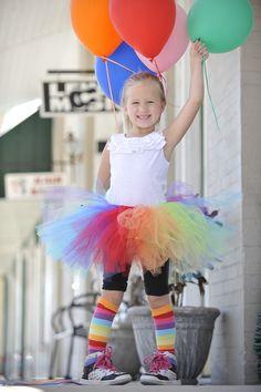 Clown costume - girls & ladies