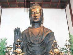 飛鳥寺 大仏