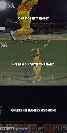 MS Dhoni hitting single handed six History Of Cricket, World Cricket, Test Cricket, Cricket Sport, Dhoni Quotes, Ms Dhoni Wallpapers, Cricket Quotes, Ms Dhoni Photos, Ipl Live