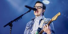 Lead vocalist and guitarist Rivers Cuomo of Weezer at Stage AE - July 3rd, 2016.