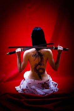 Katanas Tattoo
