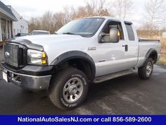 Model: 2005 Ford Super Duty F-350   Price: $16,995   COLOR    Silver Metallic /Medium Flint    MILES    161,049    Engine    6.0 ci    Trans    5-Speed A/T    Stock #    S054098    VIN    1FTWX31P95EB64098        If Interested call National Auto Sales today (856) 589-2600 Ask for Bill