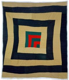 STELLA MAE PETTWAY, HOUSETOP VARIATION CENTER MEDALLION, 2002, quilted fabric, 88.5 x 75.5 inches