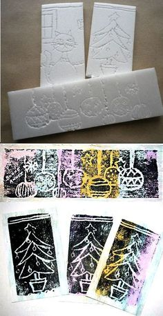 Linoldruck mit Sagex & Linoprint with Sagex More The post Linoprint with Sagex & appeared first on Best Pins. Winter Art Projects, Projects For Kids, Kids Crafts, Classe D'art, Preschool Art, Art Classroom, Elementary Art, Teaching Art, Art Activities