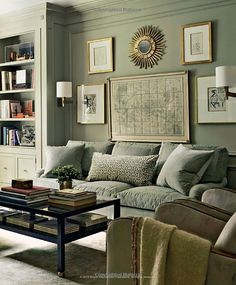 Gray on Gray with tans and other neutrals.