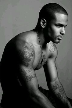 Gotta love black men - though I am not a big fan of tattoos.