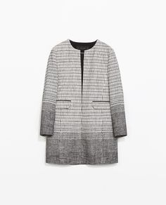 Ladylike chic - ZARA - NEW THIS WEEK - CREWNECK COAT