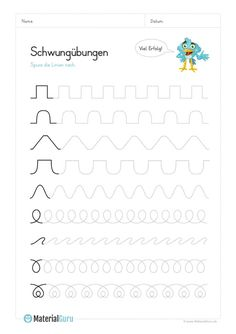 Vorschule Kita Arbeitsblätter Deutsch – Rebel Without Applause Preschool Writing, Numbers Preschool, Preschool Learning Activities, Teaching Kids, Kids Learning, Handwriting Worksheets, Tracing Worksheets, Handwriting Practice, Preschool Worksheets