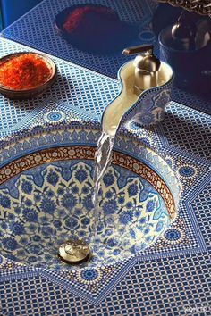 Moroccan Sink Design ! Make sure to share +Diply with your friends and family.