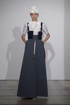Claudia Susini graduate collection - Polimoda Show 2014