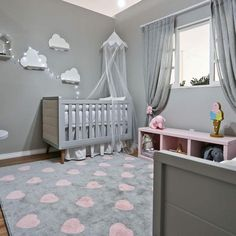 35 More Unique Baby Boy Room For Your Beloved Child Baby Bedroom, Baby Boy Rooms, Baby Room Decor, Nursery Room, Girl Nursery, Girl Room, Girls Bedroom, Room Themes, Furniture