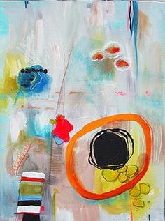 abstract art   I love circles
