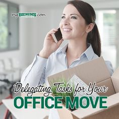 Delegating Tasks for Your Office Move Office Moving, Seamless Transition, The Help, Create