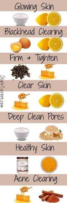 7 DIY face masks for glowing skin - masks # for . - 7 DIY face masks for glowing skin - Face Skin Care, Diy Skin Care, Homemade Face Masks, Diy Face Mask, Face Diy, Beauty Care, Beauty Skin, Beauty Tips, Diy Beauty