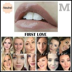 LipSense First Love. My first light/neutral color. It is very much both of those things; I recommend a darker layer, then top it off with 2 coats of this.