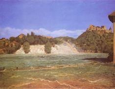 Hans Thoma - Rheinfall bei Schaffhausen (1876)
