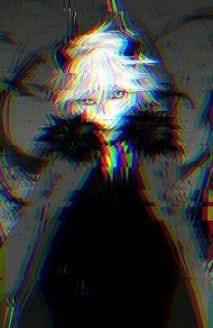 Demon Manga, Anime Demon Boy, Dark Anime Guys, Sad Anime, Anime Neko, Kawaii Anime, Manga Anime, Anime Art, Glitch Wallpaper