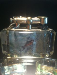 Dunhill Aquarium lighter - one at a type Call Danilo 0039 335 6815268