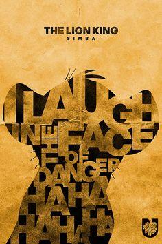 Simba (Lion King poster)