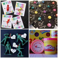 Super cute no candy valentine ideas!