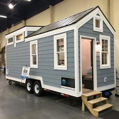 The Poco Edition, from the Mint Tiny House Company. A stunning tiny house on wheels made in Delta, British Columbia.