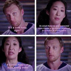 Cristina's opinion on babies. LMAO!