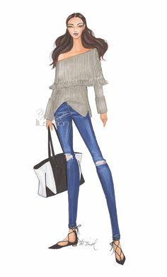 Fashion Illustration by M.Michel Illustration Fall 2015