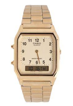 Relógio Casio AQ-230GA-9BMQ Dourado - Marca Casio