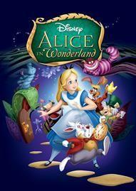 Alice In Wonderland Disney movie cover