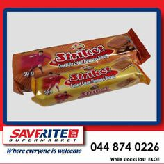 Don't forget to treat the children to a snack this weekend for only a packet, you could put a smile on their face without putting a dent in your wallet. Only at Saverite Supermarket York Street. Special Of The Day, School Lunch Box, York Street, Chocolate Cream, Custard, Treats, Candy, Snacks, Biscuits