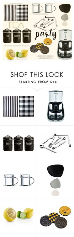 """""""Afternoon Tea Party"""" by katarina-blagojevic ❤ liked on Polyvore featuring interior, interiors, interior design, home, home decor, interior decorating, Nesco, Typhoon, Alessi and Mono"""