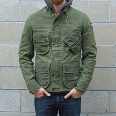 <?php echo $this->htmlEscape($_product->getName()) ?>  Vanson Stormer Waxed Canvas Jacket
