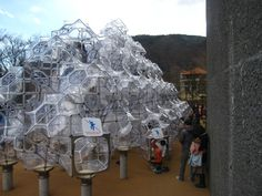 """Peter Pearce's """"Curved Space Diamond Structure"""" 