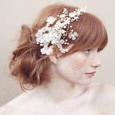 Cherry blossom and crystal headband - Style - #356