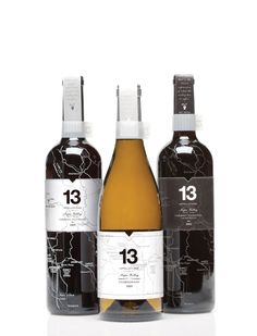 13 Appellations Wine. Designed by Wei Sun, a student of The Academy of Art University.